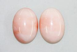 Natural Angelskin Coral Pair
