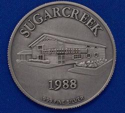 Sugar Creek 1oz Fine Silver