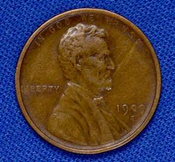 Nicer 1909-S Lincoln Wheat Cent, Lightly Circ