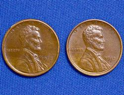 Great Pair 1916-S and1919-S Wheat Cents