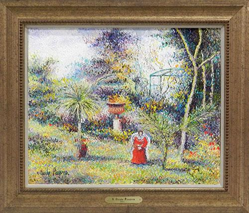 Pissarro Original Oil On Canvas