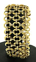 Stunning Ivanka Trump Diamond Octagon Bracelet in 18K