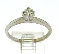 Exquisite Diamond Solitaire Ring