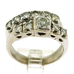 Classic Multi Diamond Bridal Set