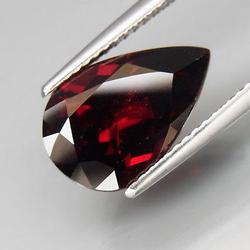 Ravishing red 4.82ct pear cut Garnet