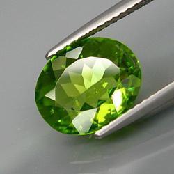 Gorgeous 2.89ct apple green Peridot