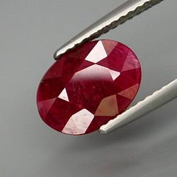 **Ravishing red 2.50ct natural Ruby**