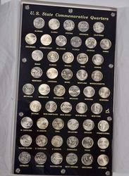 Impressive Philadelphia Mint State Quarter Display