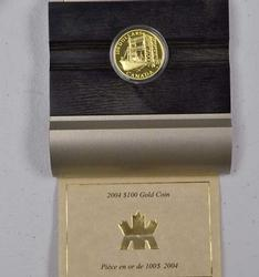 Rare 2004 Canada $100 Proof Gold, KM528
