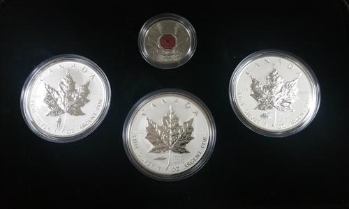 2004 3pc Canadian Maple Privy Mark Set