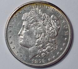 1878-S Morgan Silver Dollar, BU