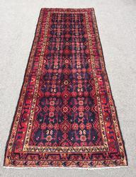 1960s Authentic Handmade Vintage Persian Meshg-Abad