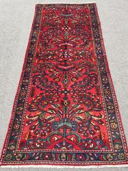 Exquisite 1950s Authentic Hand Woven Vintage Persian Tafshanjian