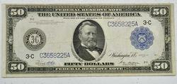 $50 Large Size Federal Reserve Note Series of 1914
