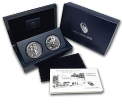 2013 Two Coin Amer Eagle West Point Silver Set