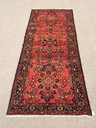 Delightful 1950s Authentic Handmade Vintage Persian Ferahan