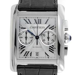 Stunning Stainless Steel Cartier Tank MC Automatic