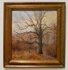 T.Foiss Fall woodland scene original oil on canvas