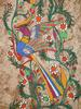 Beautiful large serigraph of colorful birds