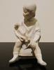 Beautiful porcelain figure of a boy