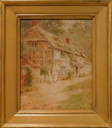 Beautiful 19th century watercolor by Thomas Noel Smith
