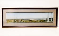 Panoramic photogravure of Washington DC