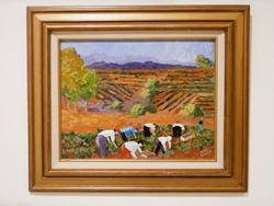 Beautiful Original oil on canvas by Gene Walch