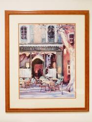 Decorative art lithoprint of