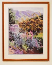 Decorative art lithoprint of the