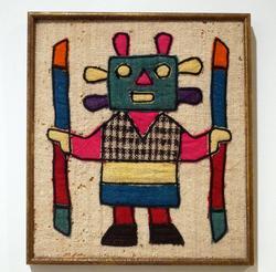 Very unique cross-stitch vintage art.