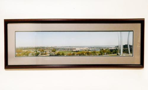 Panoramic photogravure of Washington DC