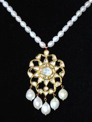 22kt Gold, Pearl, & Diamond Necklace