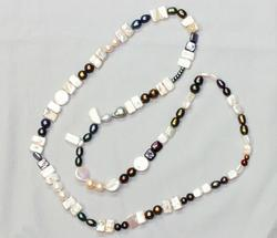 Bohemian Pearl Necklace