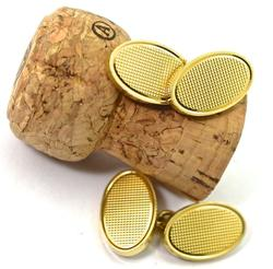 Luxurious Heavy 18K Cufflinks