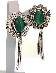 American Indian Inlay Earrings