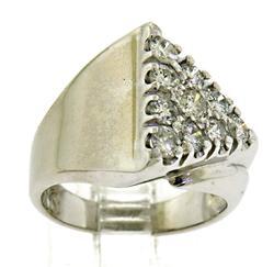 Winning Triangle Top Diamond Ring