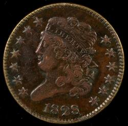 Nice-looking 1828 (13 Stars) Classic Head Half Cent