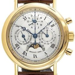 Stunning 18K Breguet Classique On Leather Strap