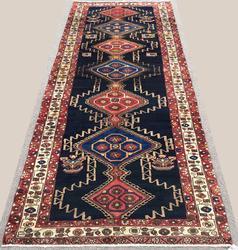 Lovely 1950s Authentic Handmade Vintage Armenian Weave Persian Talesh