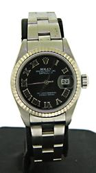 Ladies Rolex Sunburst Dial DateJust