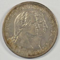 Nice 1900 Lafayette Commemorative Silver Dollar