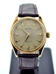 Collector's Gents 14K Rolex Oyster Perpetual