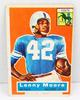 Lenny Moore, Baltimore Colts 1956 Football Card