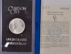 1883-CC GSA Morgan Silver Dollar