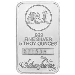 SilverTowne 5oz Silver Bar Prospector Design