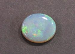 Natural Opal with Teal Flashes of Color