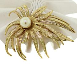 Lovely Wild Flower Brooch