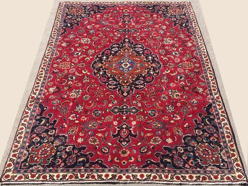 Simply Darling 1950s Authentic Handmade Vintage Royal Persian Rug