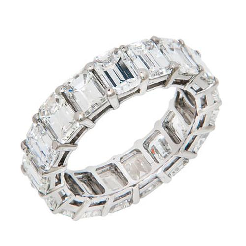 9 CARAT DIAMOND PLATINUM ETERNITY BAND