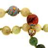 Elaborate Multi-Colored Jade Beaded Necklace
